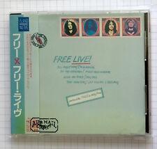 FREE - Free Live JAPAN CD OBI RAR! PHCR-18709 BAD COMPANY