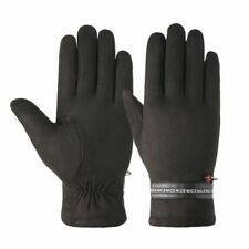 Men Winter Sports Thick Warm Gloves Cycling Riding Leather Touch Screen Mittens