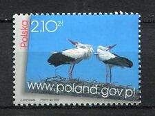 36059) POLAND 2003 MNH** Cranes and Polish Gov. Internet
