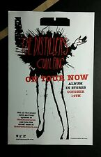 THE DISTILLERS CORAL FANG B&W  5.5x8.5 MUSIC PROMO POSTER FLYER