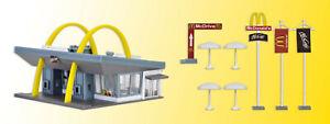 Vollmer 47765 McDonald´s Schnellrestaurant mit McDrive, Bausatz, N