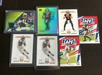 Drew Brees 2019 Panini Chronicles Dynagon New Orleans Saints /99 (7 card LOT )