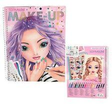 TOP Model Make Up Colouring Book New Design 10199 Depesche Sent First Class Post