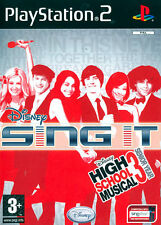 Disney Sing It! High School Musical PS2 Playstation 2 IT IMPORT