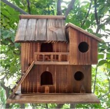 Outdoor Wooden Birds Nests Top Quality Preservative Decorations New Bird Houses