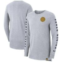 Golden State Warriors Mens Nike City Long Sleeve T-Shirt Dri  XXL 2XL NEW $45