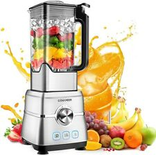 Blender Smoothie Maker, COOCHEER 1800W Blender for Shakes and Smoothies with...