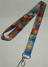 MOBILE PHONE/IDENTITY CARD LANYARD NECK STRAP BLUE TOY STORY WOODY