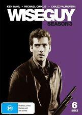 Wiseguy : Season 3 (DVD, 2009, 6-Disc Set) - Region 4
