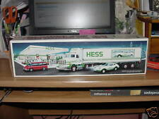 HESS 18 WHEELER AND RACER 1992  MINT IN BOX