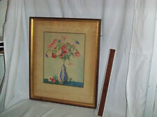 Signed Anna C. Tomlinson Watercolor