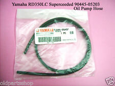 Yamaha RD350LC Oil Pump Hose NOS RD250 OIL PUMP Pipe 90445-05M07 Rubber Hose