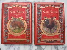 Livres Nos bêtes Animaux utiles et nuisibles Colin Armand Beauregard Henri 1896