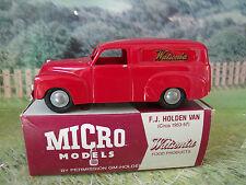 Micro Models ( Australia) #WA-1 GM F.J. Holden Van