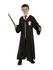Harry Potter Official Costume Kit Boys Book Week Fancy Dress Robe Wand Glasses