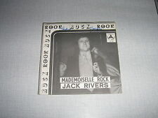 JACK RIVERS 45 TOURS BELGIQUE MADEMOISELLE ROCK