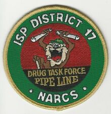 Illinois State Police Narcotics Task Force Sheriff State IL TAZ DEA patch