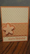 """Stampin Up Card Kit Set Of 4  """"Happy Birthday"""" cards #49b"""