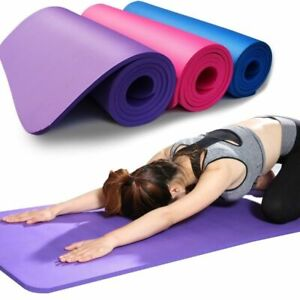 Yoga Mat Non-slip Fitness Mat 3MM-6MM Thick EVA Comfort Foam Exercise Pilates