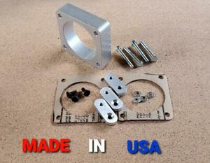 THROTTLE BODY SPACER FORD 2V F150 E150 EDGE TAURUS EXCURSION EXPEDITION 97-14