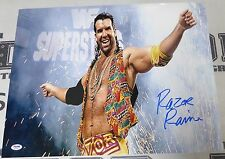 Razor Ramon Signed WWE 16x20 Photo PSA/DNA COA Scott Hall Wrestling Picture Auto