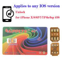 GPPLTE 4G+ Turbo SIM Card Unlock for iPhone X 8 7 6 6S Plus Unlocking LTE IOS 11