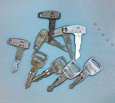 Vintage 1960's Kawasaki motorcycle ignition key