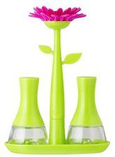 Vigar Flower Power - Saliera e Pepiera colore Verde Magenta