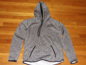 UNDER ARMOUR STORM COLDGEAR LONG SLEEVE HOODIE WOMENS LARGE EXCELLENT CONDITION