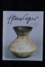 HANS COPER STUDIO POTTERY EXHIBITION CATALOGUE GALERIE BESSON 1988