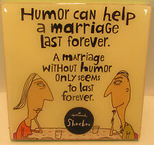 """Hallmark Plaque """"Humor can help a marriage last forever..."""" SHX4030"""
