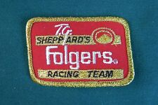 T.G. Sheppard's Folgers Racing Team Embroidered Patch (C2)