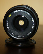 MC SOLIGOR C/D Wide-Auto 1:2.8 F=28mm Pentax K #9961200 made in Japan