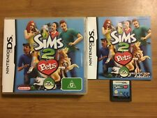 The Sims 2 Pets Nintendo DS COMPLETE EXCELLENT CONDITION