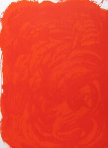 JOAN MIRO -  ROUGE  - ORIGINAL LITHOGRAPH - 1971 - FREE SHIP IN  US !!!