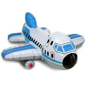 Jumbo Jet Intex Ride On Inflatable AirPlane Toy The wet Set Collectable 2010