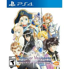 Tales of Vesperia Definitive Edition (PlayStation 4, 2019), Free Shipping!