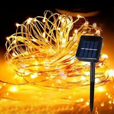 Solar Garden Outdoor Fairy String 300 LED Decoration Xmas Christmas Party Lights