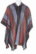 WHOLESALE LOT OF 10 SOFT & BEAUTIFUL ALPACA HOODED PONCHOS QUITO