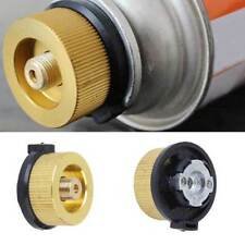 Hiking Stove Burner Connector pane Butane Gas Conversion Head Adaptor-Useful