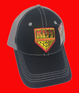 KISS ARMY Embroidered Baseball Cap Hat New with Tags Buy More & Save