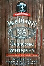Jack Daniels Old No. 7 Tennessee Whiskey brand new tin metal sign