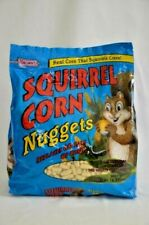 Brown's Squirrel Corn Nuggets All Natural 5 lbs Exp 4/24/20 Brand NEW No Mess