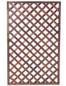 1200/1800 x 900mm Outdoor Garden Fence Wall Timber Lattice Trellis Screen Panel