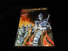 Rodolphe / Rouge : Les écluses du ciel 2 Les chevaux de la nuit Edit Glénat 1985