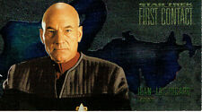 STAR TREK FIRST CONTACT CHARACTER CARD C1