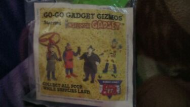 1991 GOGO INSPECTOR GADGET GIZMOS WindSurfer Toy Burger King Kids Club