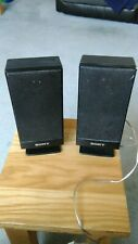 pair of sony speakers model no. ss_fs1