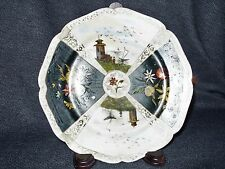 Haviland & Co. Rare Early Limoges Artist Signed Handpainted Unique Cabinet Plate