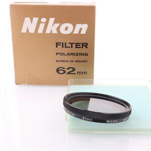 Nikon Orginal Polfilter 62mm in der OVP
